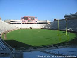 Doak Campbell Seating Chart Rows Doak Campbell Stadium View From Section 122 Vivid Seats