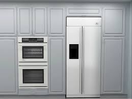 this ikea kitchen turns that ugly dead space between a refrigerator and the ceiling into