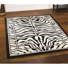 black and white zebra area rug designs