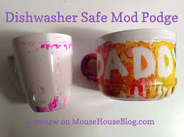 dishwasher safe mod podge review