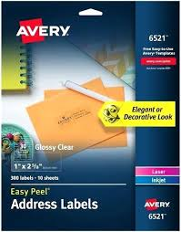 avery 1 x 2 5 8 template avery clear mailing labels 8667 template 5661