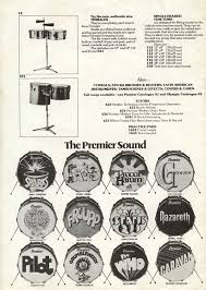 1975 premier drums advertisement including logos for sparks pilot the who and genesis find this pin and more on auto insurance quotes