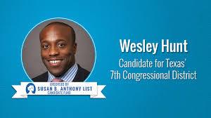 Wesley Hunt - Susan B. Anthony List