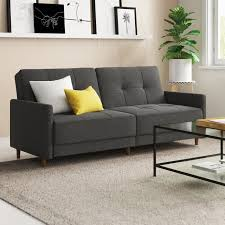 Zipcode Design Reviews Geraldton Linen Convertible Sofa In 2019 Living Room
