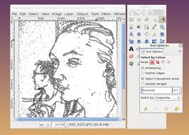 Click on the paintbrush in the toolbox. Tutorial How To Make Colour Vector Illustrations From Line Drawings Using Gimp And Inkscape Eleanor Greenhalgh