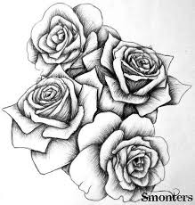 Small Picture 30 best flowers images on Pinterest Flower drawings Drawings