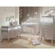 silver nursery furniture. Natart Alexa 3 Piece Nursery Set In Silver - Crib, Drawer Dresser, And Furniture E