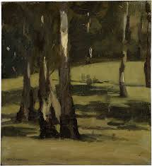 max meldrum shadows landscape with trees