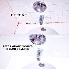 recaulking bathtub