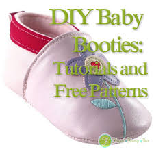 Baby Shoes Pattern Amazing DIY Baby Booties Tutorials And Free Patterns Frugal Family Fair