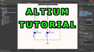 Altium Designer 17 Tutorial Pdf Tutorial 1 For Altium Beginners How To Draw Schematic And Create Schematic Symbols