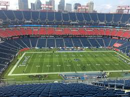 Titans Seating Chart With Rows Nissan Stadium Section 314 Tennessee Titans