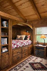 Built-in-bed-in-a-little-ones-room-