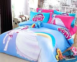 my little pony bedding queen size cotton my little pony stars bedding duvet cover set new my little pony bedding queen