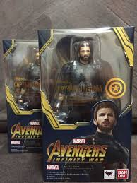 shf capn america infinity war toys games other toys on carousell