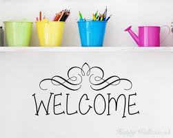 Welcome Quotes Enchanting Welcome Quotes Wall Art Stickers