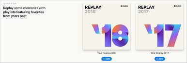 Yearly Apple Music Replay Playlists ...