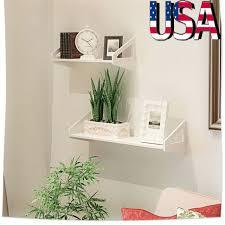 office floating shelves. 3 MDF Floating Shelves Storage Rack Wall Mounted For Bedroom Bathroom Office  US Office Floating Shelves C