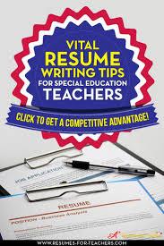 The 25 Best Teacher Resumes Ideas On Pinterest Teaching Resume