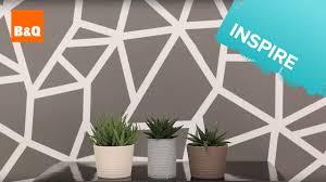 geometric wall paintCreate a geometric wall  YouTube