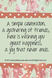 Birthday Celebration Quotes