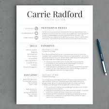 Modern Resume Format Modern Professional Resume Templates Best Of