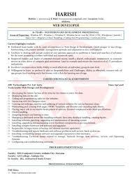 Resume Resume Web Developer
