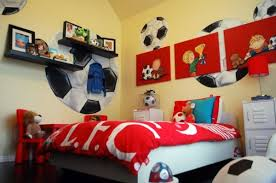 Innovative Soccer Room Decor Photo Soccer Bedroom Decoration Kids Soccer  Bedroom Decor 12 On