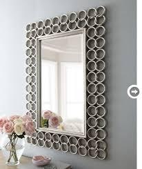 wall decor chain link mirror jpg