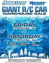 Car For Sale Flyer Unique Giant RC Car Warehouse Sale Team Associated