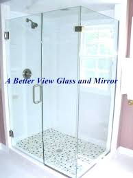 cost to install frameless glass shower door glass shower enclosures