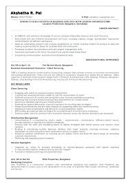 Resume Templates For Business Analyst – Betogether