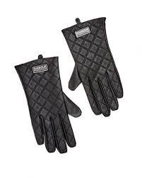 Barbour International Womens Burton Tourer Quilted Leather Gloves & International Womens Burton Tourer Quilted Leather Gloves Adamdwight.com