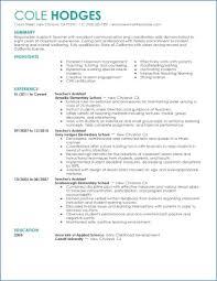 Resume Examples For Teacher Assistant Ceciliaekici Com