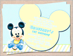 Mickey Mouse Party Printables Free Mickey Mouse Birthday Printables Free Printable Baby Mickey Mouse