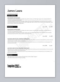 Best Good Resume Format Word Download Template 2010 Microsoft Office