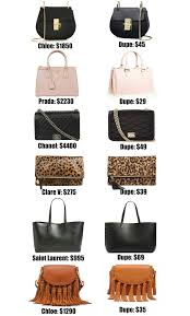 Inexpensive Designer Bags The Ultimate Designer Bag Dupes Guide Womens Designer Bags
