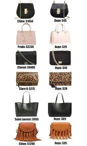 Best Discount Designer The Ultimate Designer Bag Dupes Guide Womens Designer Bags