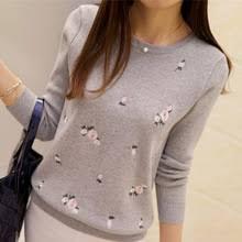 Lcybhe <b>2020 Autumn Sweater</b> Women Embroidery Knitted Winter ...