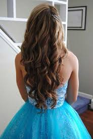 best prom hairstyles curly long hair