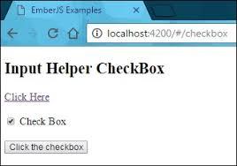 EmberJS Template Input Helper CheckBox