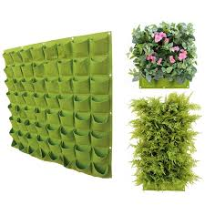 wall hanging plant holders vertical