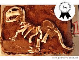 Bondville Loving Dinosaur Bones Birthday Cake
