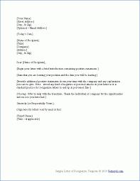 Resign Letter Format In Word Zromtk Cool Samples Of Resignation Letters