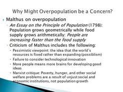 overpopulation essay  overpopulation essay