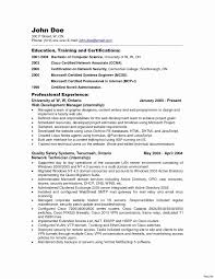 Sample Resume For Network Administrator Administrative Resume Sample Inspirational Network Administartion 16