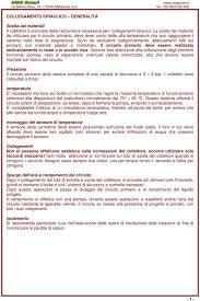 Istruzioni per l assemblaggio sistema a circolazione forzata su