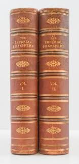 the works of shakespeare imperial edition 2 vol