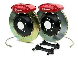 Brembo 1j2 9007a2 Gt Brake Kit Toyota Tundra Front 07 Type 1 Rotors Red Calipers