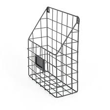 mesh wire wall mount hanging file